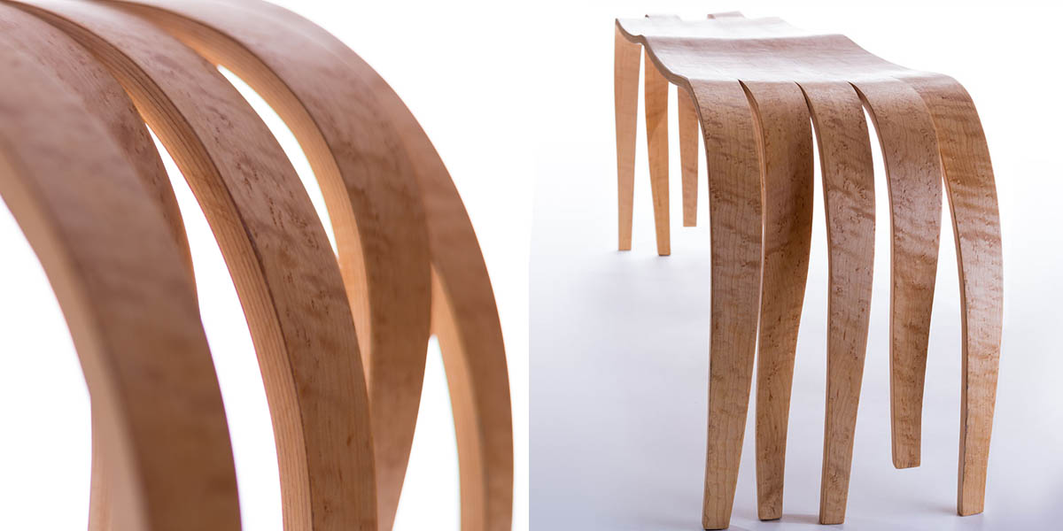 Bent Laminate Bench